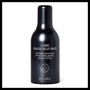 J.ONE Jelly Pack Black Overnight Rescue Mask